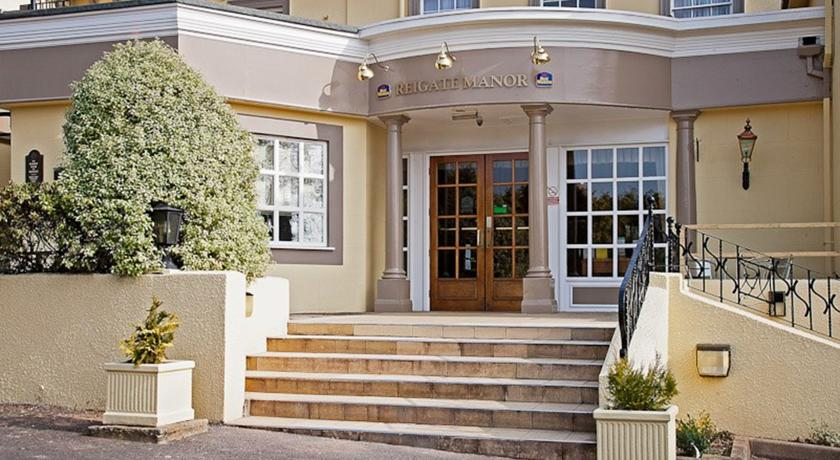 Фотография отеля Best Western Reigate Manor Hotel